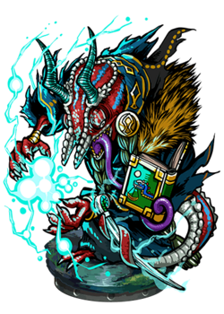 Iamek, the Thunderstroke Figure