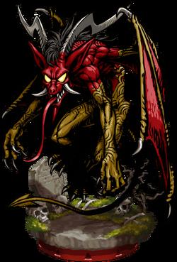 Bat Demon Figure