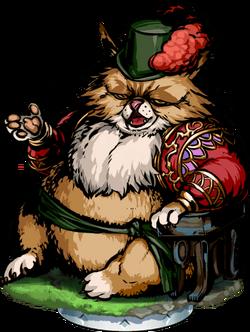 Cat Sith Noble Figure