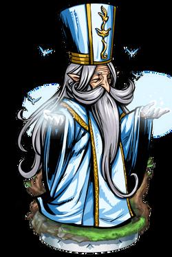 Elven Priest II ++ Figure