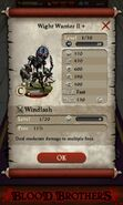 Wight Warrior II plus (base stats)