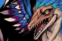 File:Microraptor Face.png