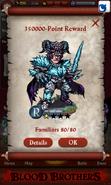 Fimbul, the Freezing Sword Point Reward