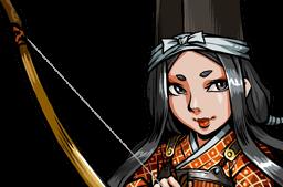 File:Tomoe, True-Arm Archer Face.png