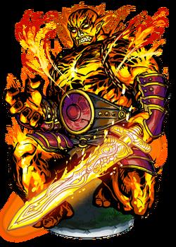 Surtr, Flame Giant II Figure