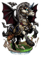 Dire Bat Pegasus II Figure