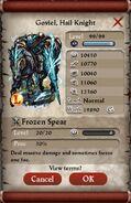 Goviel, Hail Knight Max