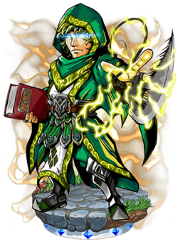 Kapoonis, Thunder Magus Figure