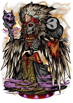 Ah Puch, Death's Knell Figure