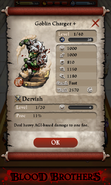 Goblin Charger Base Stats