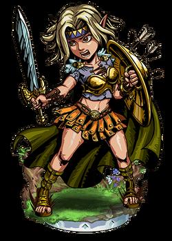 Hervor, Shieldmaiden II Figure