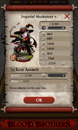 Imperial Musketeer + Base Stats