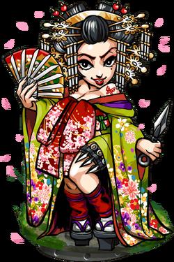 Sayuri, Sakura Kunoichi Figure