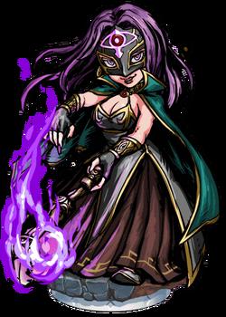 Libuse, the Black Queen Figure