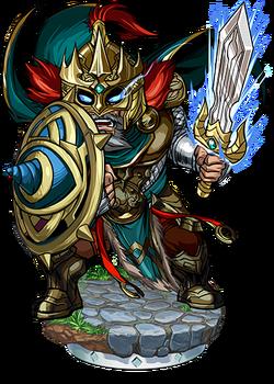 Hagen, Dueling King Figure