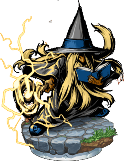 Cloud Magus Figure