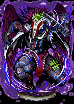 Vucub Caquix, the Dark Wing II Figure