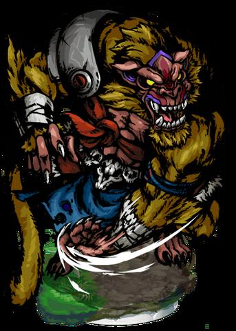File:Telida, Ape Savage II Figure.png