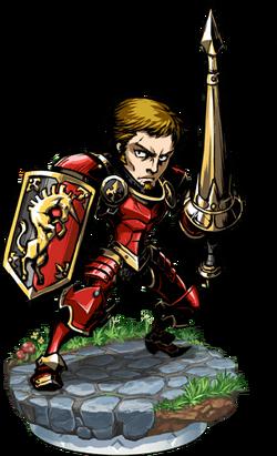 Heavy Lancer II + Figure