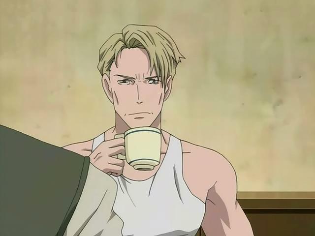 File:David drinks coffee.jpg
