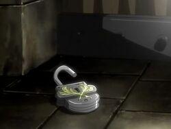 Lock of Diva's cell