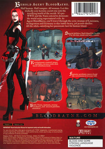 File:BloodRayne (Back Cover, North America, Europe, Consoles).jpg