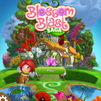 Blossom Blass Saga Main Screen