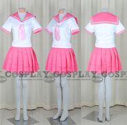 School-Girl-Uniform-(Sailor-Pink)