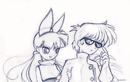 Blossom and dexter by psyconorikan-d38o3db