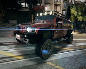 Hummer H2 (Off-Road)