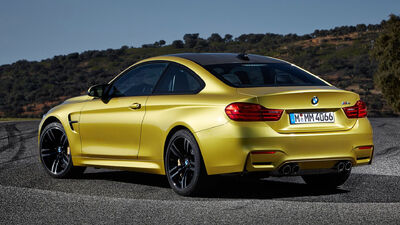 New bmw m4 coupe 2015 rear pictures