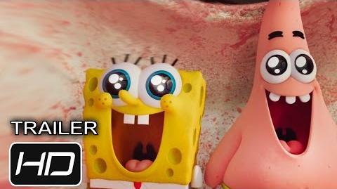 Segundo Trailer de la película de Bob Esponja Un Heroe Fuera del Agua