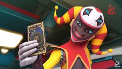 Jokertu-hold-fang-card