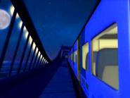 Train Passing the bridge