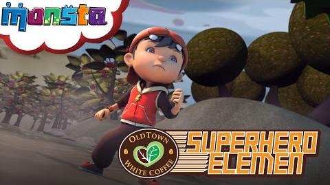 Oldtown White Coffee's Superhero Elemen Ketibaan BoBoiBoy!