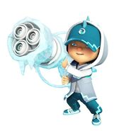 BoBoiBoy Ice And Cannon