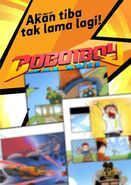 BoBoiBoy Galaxy Comic Book