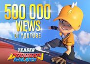 500000 Views