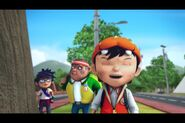 Boboiboy with fang and gopal
