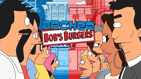"""Archer Bob's Burgers - """"I Had Something For This Burger"""""""