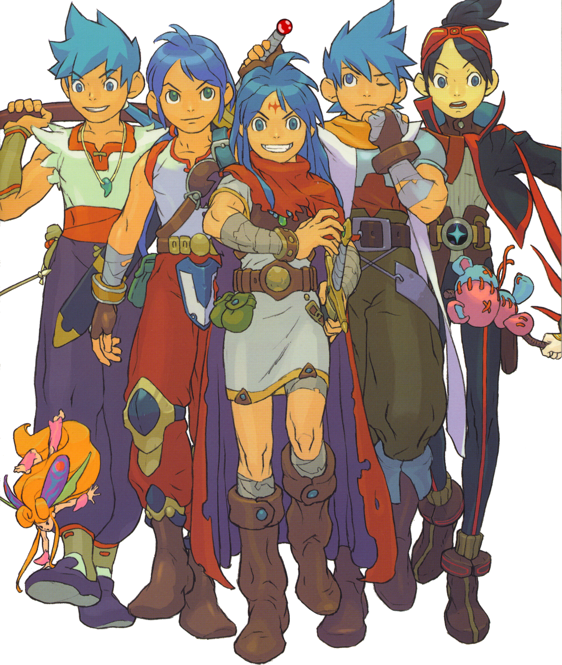 Previous Breath of Fire Ryus