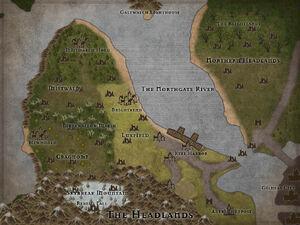 Headlands Map