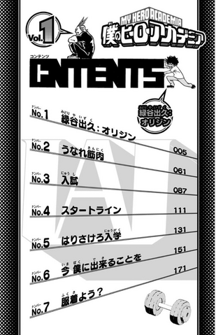 File:Volume 1 Table of Contents.png