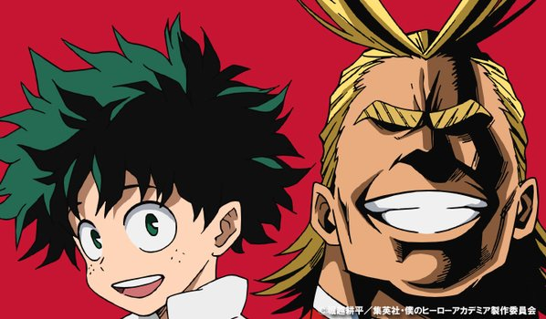 File:Izuku and All Might Colored Profile.png