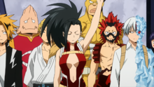 Momo Responds To All Might