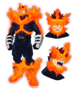 Endeavor Full body Anime