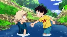 Izuku And Katsuki As Kids