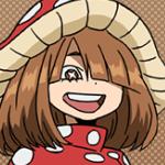Kinoko Komori Anime Portrait