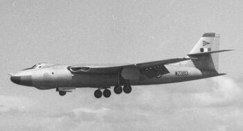 Vickers Valian B.1 WZ393 90 Sqn SGT 10.06.57