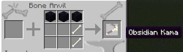 Obsidian Kama